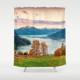 Beautiful Nature Concept Background Shower Curtain