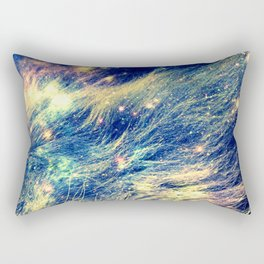 Galaxy Lion : Deep Pastels Rectangular Pillow