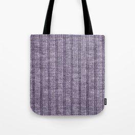 Lilac Jersey Knit Pattern Tote Bag