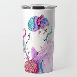 Flow Geisha on nature Travel Mug