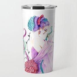 Flow Geisha on nature Travel Mug