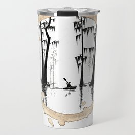 Coffee Stained On The Bayou-Louisiana Series Travel Mug