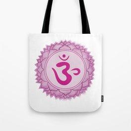 Sahasrara Crown Chakra Tote Bag
