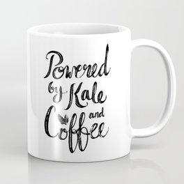 Powered by Kale and Coffee Coffee Mug