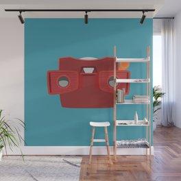 Viewmaster Illustration Wall Mural