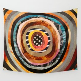 Portal III Collage Wall Tapestry