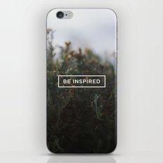 Be inspired iPhone & iPod Skin