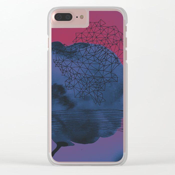 Forget It Clear iPhone Case