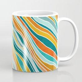 Tulum Summer Abstract Coffee Mug