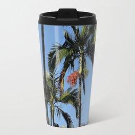 Palm in florest Travel Mug