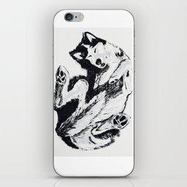 Husky Side UP iPhone Skin