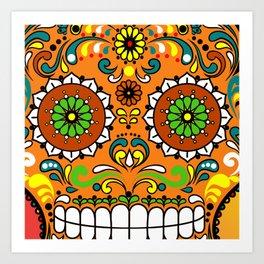 Sugar Skull #8 Art Print