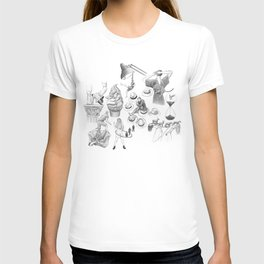 Ink Thoughts Seven T-shirt