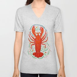 THERE'S NO CRAY LIKE HOME Unisex V-Neck