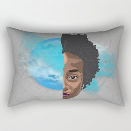 Your inner self is excellence - her version Rectangular Pillow
