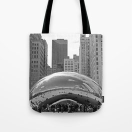 Chicago Clouds Tote Bag