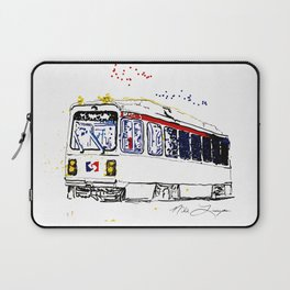 Septa Trolley Art: Philly Public Transportation Laptop Sleeve