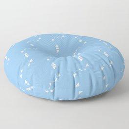 Midnight Blue Floor Pillow