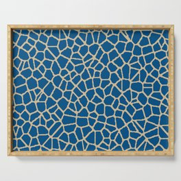 staklo (dark blue with coffee) Serving Tray