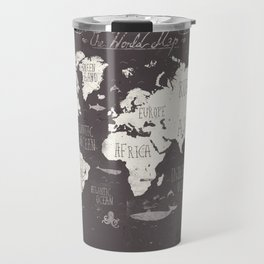 The World Map Travel Mug