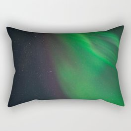Aurora Borealis strikes again! Rectangular Pillow