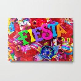 Fiesta Time Metal Print