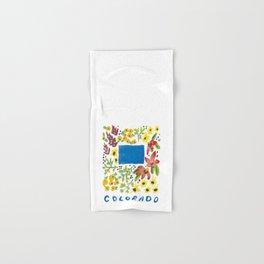 Colorado + Florals Hand & Bath Towel