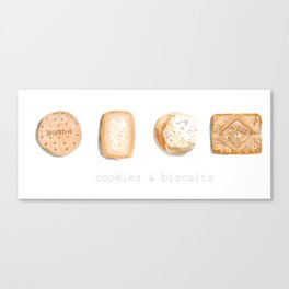 Cookies & Biscuits 2 Canvas Print