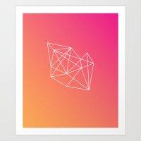 geometry Art Prints featuring Geometry by Geometry