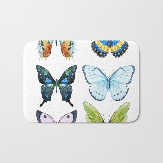Butterflies 02 Bath Mat