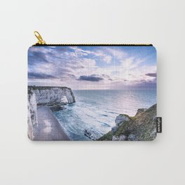 Natural Rock Arch -  ocean, coastal cliffs, waves, clouds, Carry-All Pouch