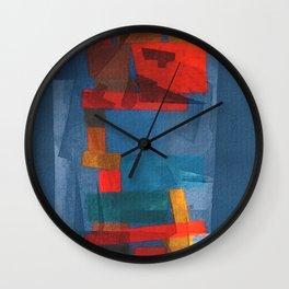 Un Hombre Codicioso y Sus Pensamientos Inútiles  Wall Clock