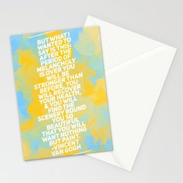 Stronger Than Before Stationery Cards