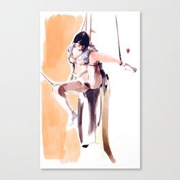 Watercolour Kimino No.4 Canvas Print