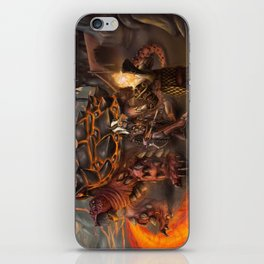 Lava Turtle iPhone Skin
