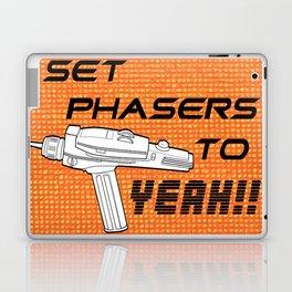 Set Phasers to Yeah! Laptop & iPad Skin