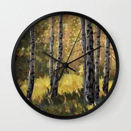 Autumn Euphoria Wall Clock