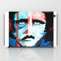 poe iPad Cases featuring Poe by J. John Whitmore