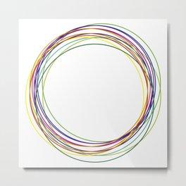 color circles Metal Print