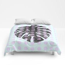 Monstera Dots Comforters