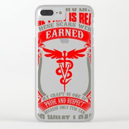 Vet T Shirts Funny vet tech superpower vet technician caduceus Veterin Clear iPhone Case