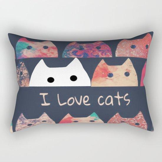 cat-123 Rectangular Pillow