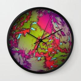 Evning gardens Wall Clock