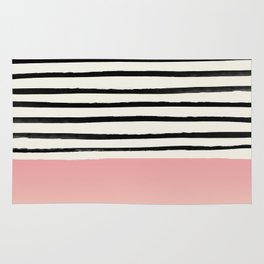 Blush x Stripes Rug