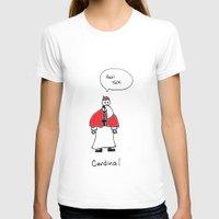 cardinal T-shirts featuring Cardinal by Clifford Allen