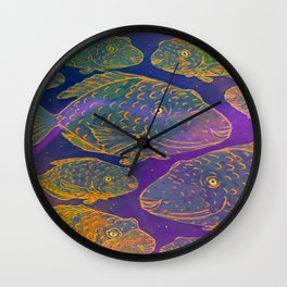 Shoal Wall Clock