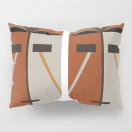 African Tribal Mask No. 4 Pillow Sham