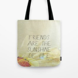 Sunshine & Friendship Tote Bag