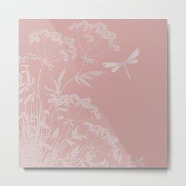 Small idyll pink Metal Print