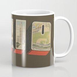 Vintage Ohio Big Letter Coffee Mug